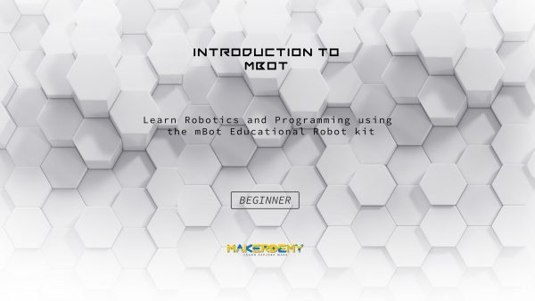 Introduction to mBot